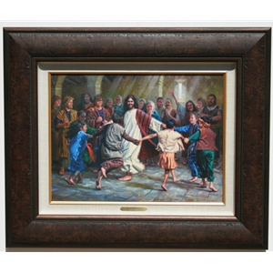 Dance of Grace 12x16 Mini by Mark Keathley