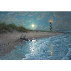 Moonlit Cove by Mark Keathley