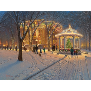 Christmas at the Courthouse by Mark Keathley