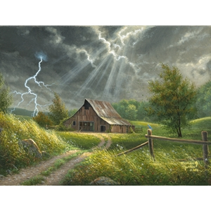 Passing Storm by Abraham Hunter