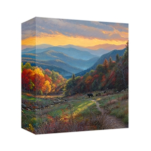 Evening Light by Mark Keathely - Gallery Wrap