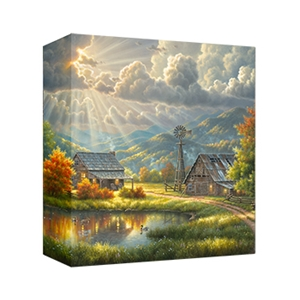 God Shed His Grace - Gallery Wrap