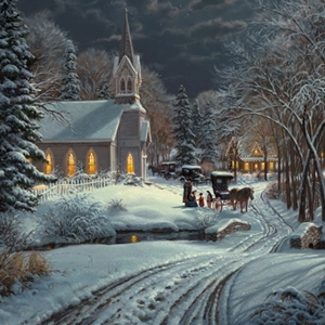 Heavenly Light by Mark Keathley  - Gallery Wrap