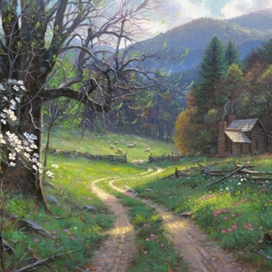 Road to Yesteryear by Mark Keathley - Gallery Wrap