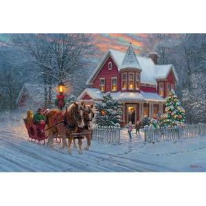 Dashing Through The Snow by Mark Keathley