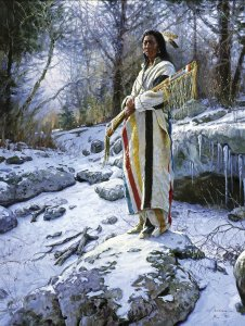 Apsaroke Guardian by Martin Grelle