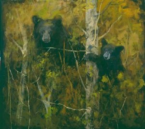A Pair of Bears by Mary Roberson