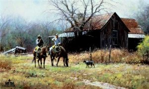 Brush Country Cowboys by Martin Grelle