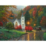 Autumn Chapel by Mark Keathley