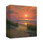 Morning Glories - Gallery Wrap