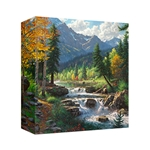 Mountain Melody by Mark Keathley - Gallery Wrap