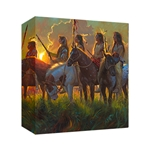 Native Sun by Mark Keathley - Gallery Wrap