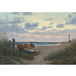 Evening at the Coast  - Gallery Wrap
