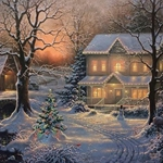 Holiday Blessings by Abraham Hunter - Gallery Wrap