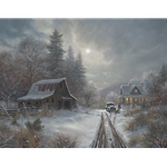 Winter Homeplace by Mark Keathley  - Gallery Wrap