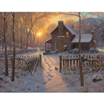 Welcome Winter by Mark Keathley - Gallery Wrap