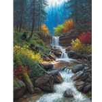 Mountain Cascade by Mark Keathley