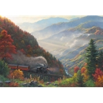 Great Smoky Mountain Railroad by Mark Keathley
