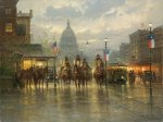 Cowhands on the Avenue by G. Harvey