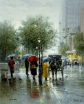 October Showers by G. Harvey