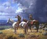 Seeking Buffalo by Martin Grelle