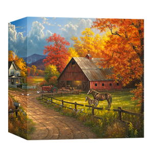 Country Blessings by Abraham Hunter - Gallery Wrap