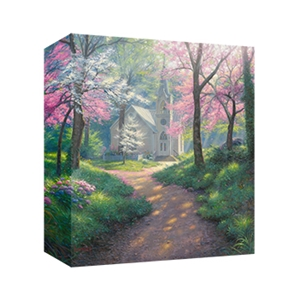 Spring Chapel by Mark Keathley - Gallery Wrap