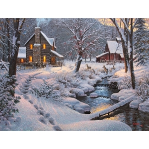 Warm and Cozy  by Mark Keathley - Gallery Wrap