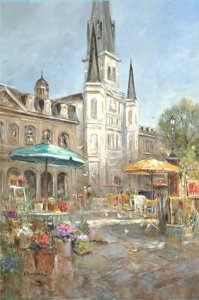 On the Square by L. Gordon