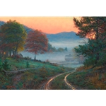 Morning in Cades Cove by Mark Keathley