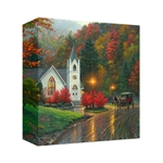Autumn Chapel  by Mark Keathley - Gallery Wrap