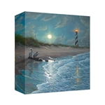 Moonlit Cove by Mark Keathley - Gallery Wrap