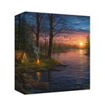 Evening Mist by Abraham Hunter - Gallery Wrap