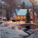 Evening Prayers by Mark Keathley - Gallery Wrap