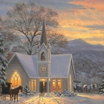 His Light Shines by Mark Keathley - Gallery Wrap