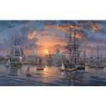 Charleston Harbor by Abraham Hunter