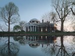 Jefferson's Monticello by Rod Chase